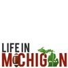 Football logo for Life in Michigan Blog