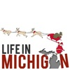 Christmas logo for Life in Michigan Blog